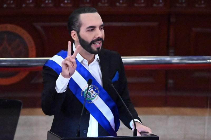 Salvadoran President Nayib Bukele