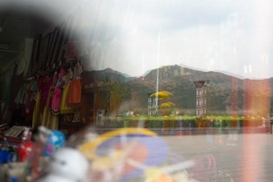 中国一家卖韩国时装的礼品店