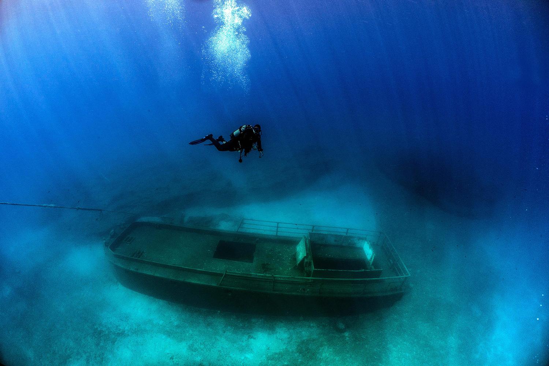 Cyprus shipwreck