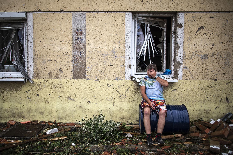 Tornado destroys home in Czech Republic