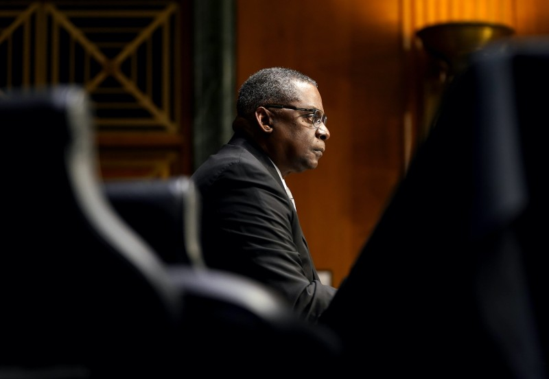 Lloyd Austin testifies to become next U.S. defense secretary.