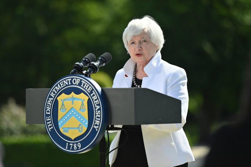 U.S. Treasury Secretary Janet Yellen