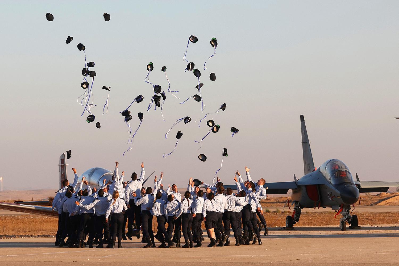 Israeli Air Force graduation
