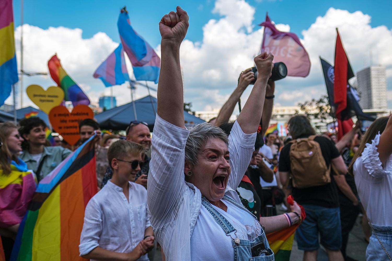 Pride parade in Poland