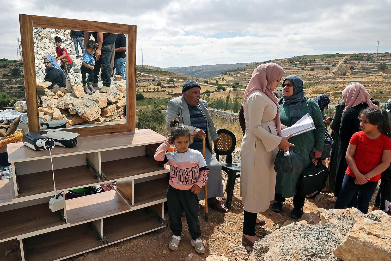 Palestinian family's house demolished