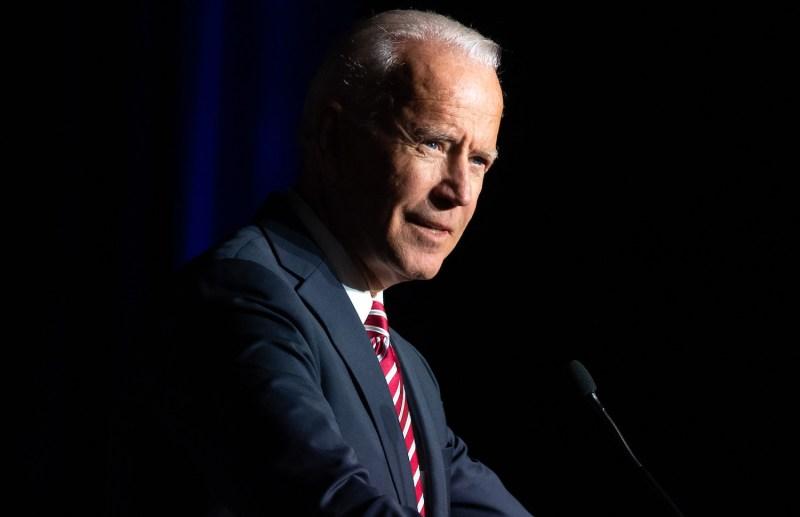 Former Vice President Joe Biden speaks during the First State Democratic Dinner.