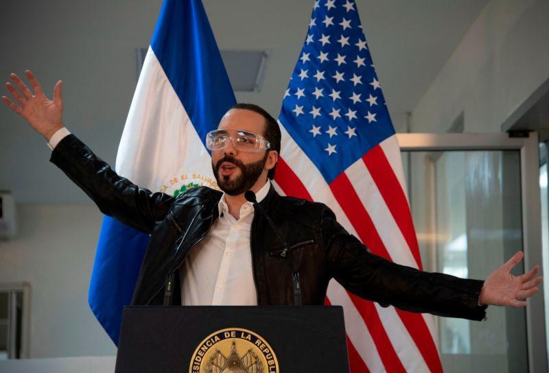 El Salvador's President Nayib Bukele