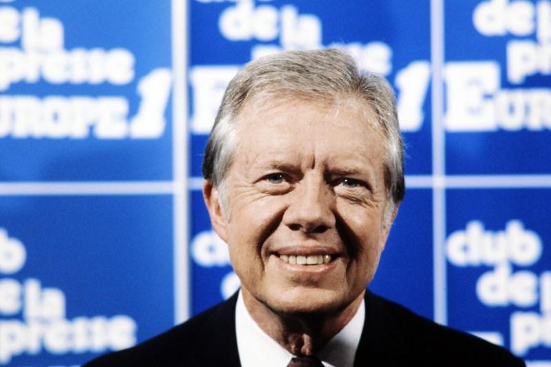 Portrait taken on May 12, 1982 of former U.S. President Jimmy Carter.