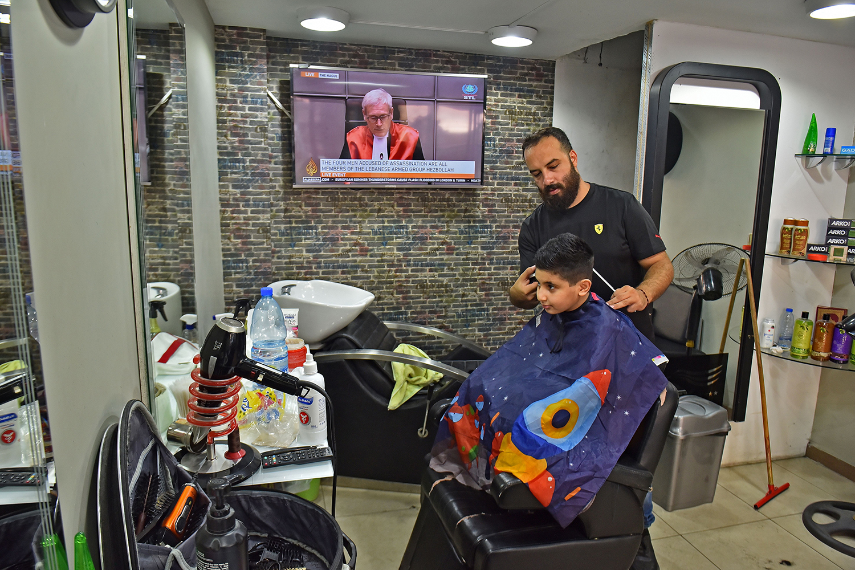 A Lebanese barber