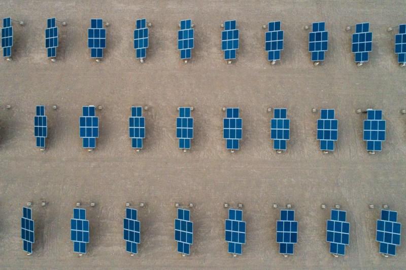 Solar modules in China