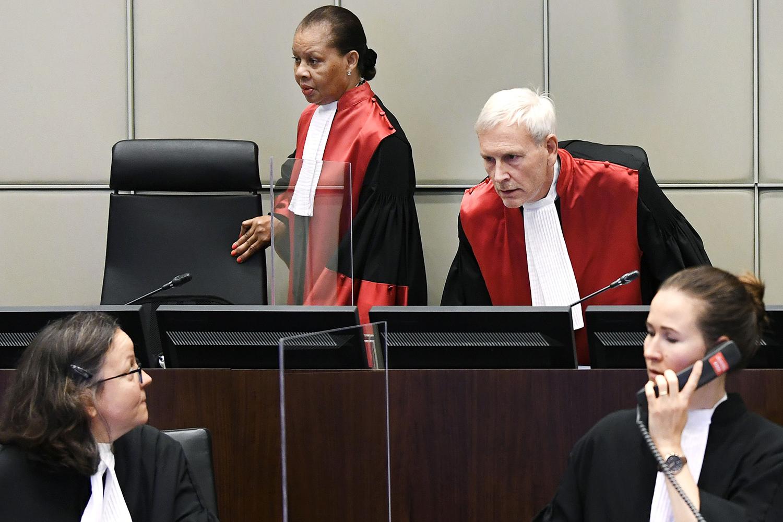 U.N.-backed Special Tribunal for Lebanon in Leidschendam, Netherlands,