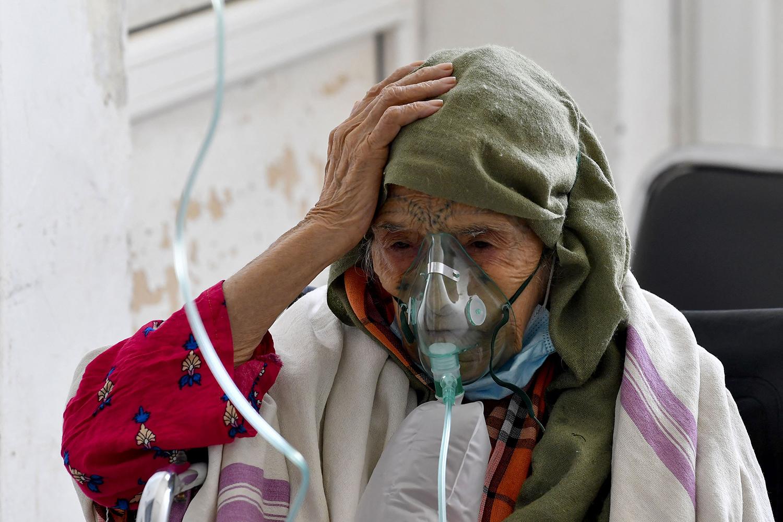 COVID patient in Tunisia