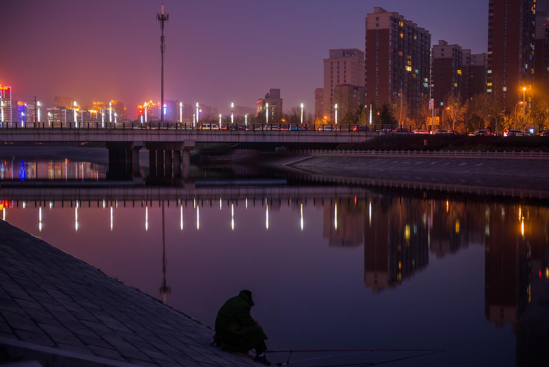 A bridge in Zhengzhou, China.
