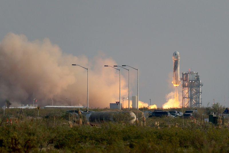 bezos rocket