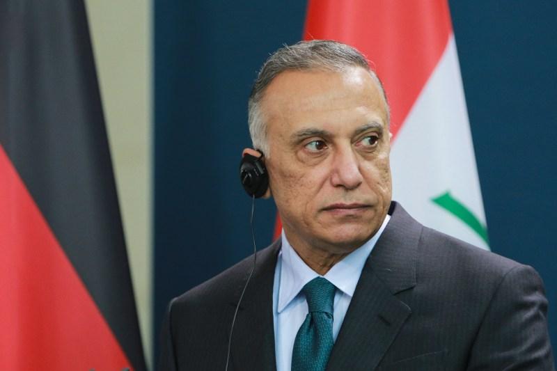 Iraqi prime minister speaks in Berlin.