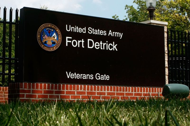 Fort Detrick Army Lab in Maryland