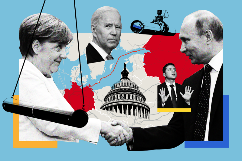 nord-stream-2-biden-merkel-putin-germany-russia-foreign-policy-illustration