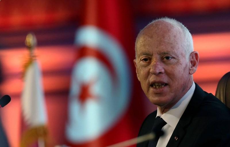 Tunisian President Kais Saied