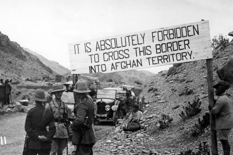 An Afghan border in 1919