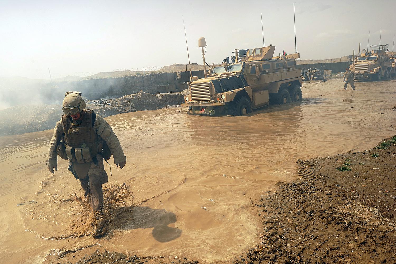 U.S. soldiers in Afghanistan in 2011