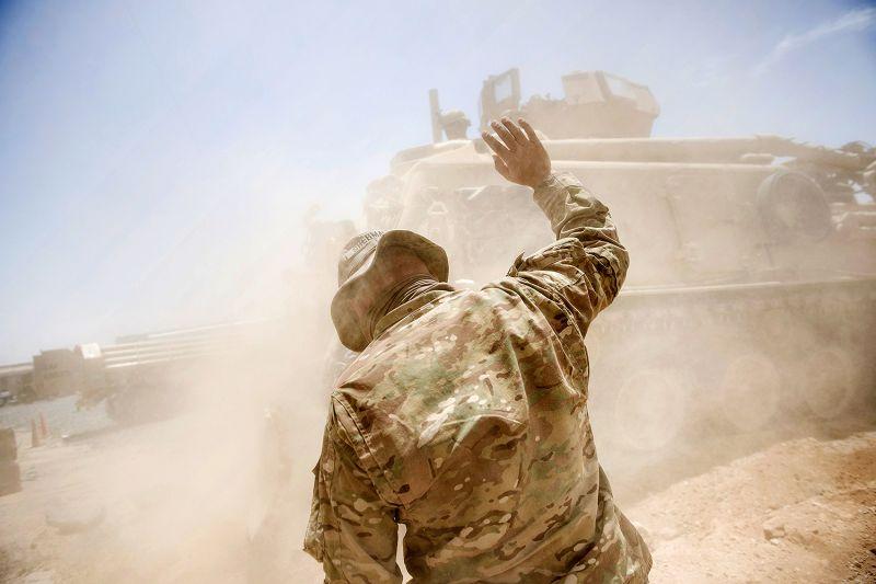 U.S. Army soldiers in Afghanistan