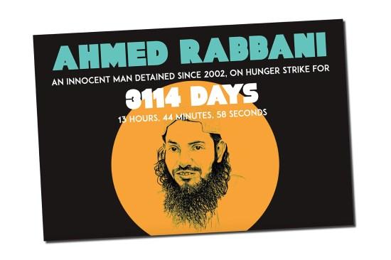 A countdown of Ahmed Rabbani's hunger strike