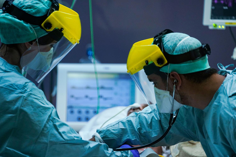Belgian medical workers