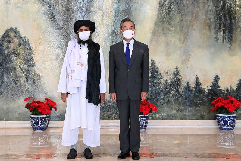 Chinese foreign minister meets with Taliban leader