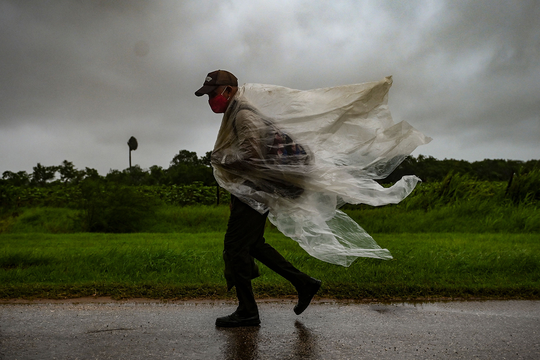 Hurricane Ida in Cuba