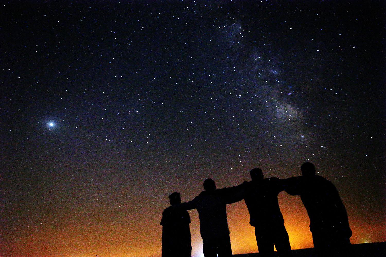 Milky Way in Kuwait