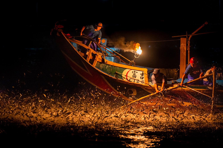 Fishing boat in Taiwan