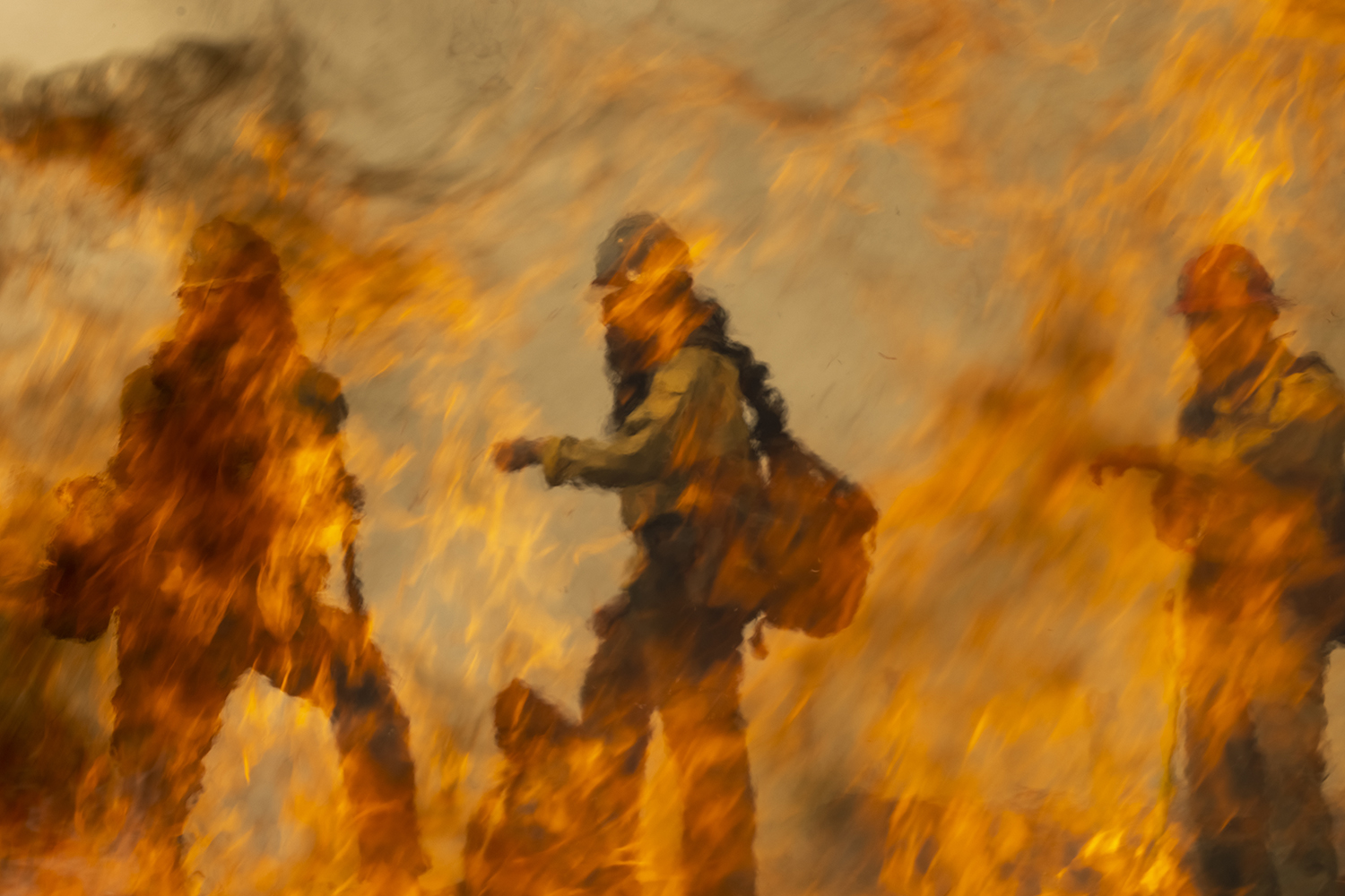 Firefighters in California
