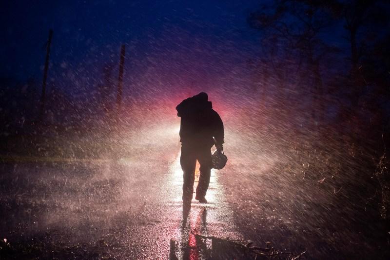 Hurricane Ida fire chief walks away
