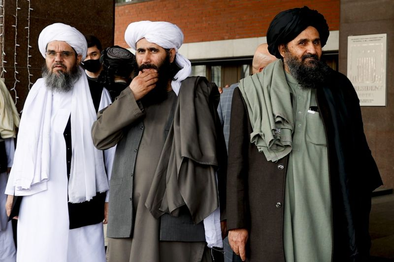 Taliban delegation in Moscow