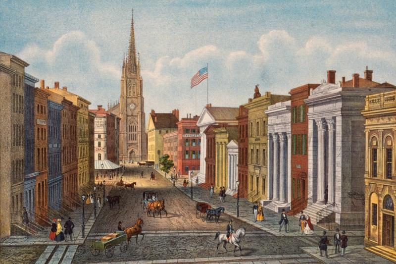 Wall Street, 1847.