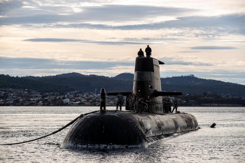 Royal Australian Navy submarine HMAS Sheean
