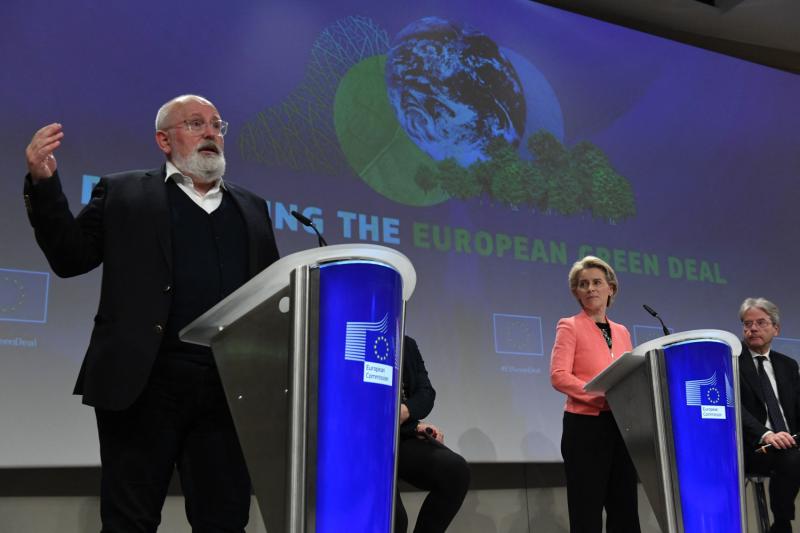 The EU unveils low-carbon economy policies.