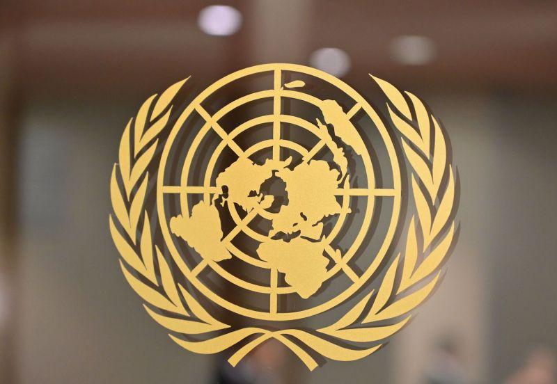 The U.N. logo