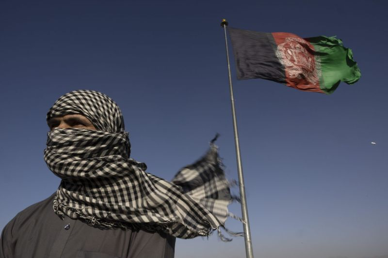 An Afghan who says he worked as a CIA operative