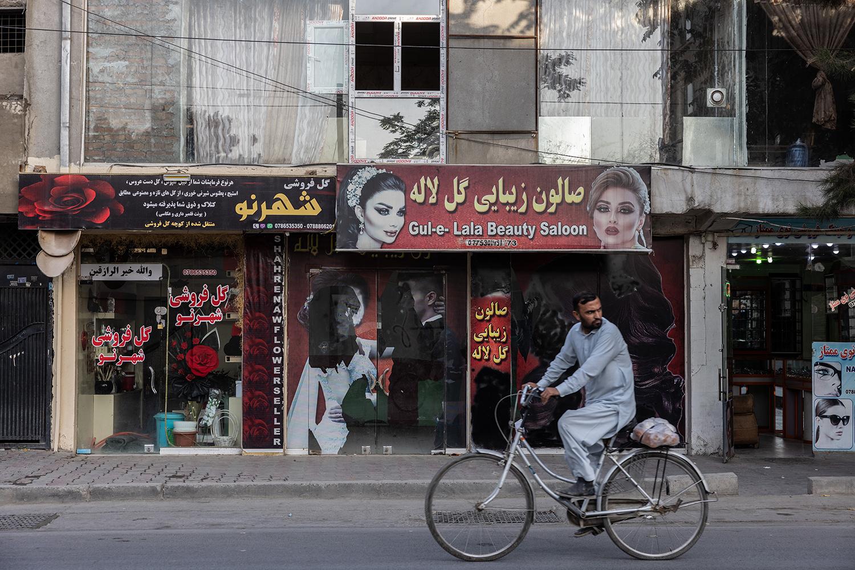 A street scene in Kabul.