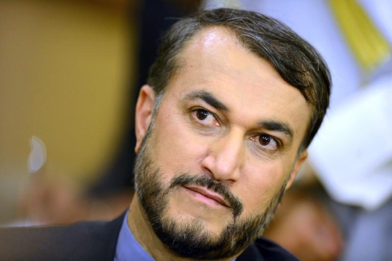 A close-up photo of Hossein Amir-Abdollahian's face.