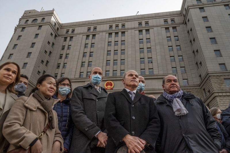 china closed trial two michaels canada