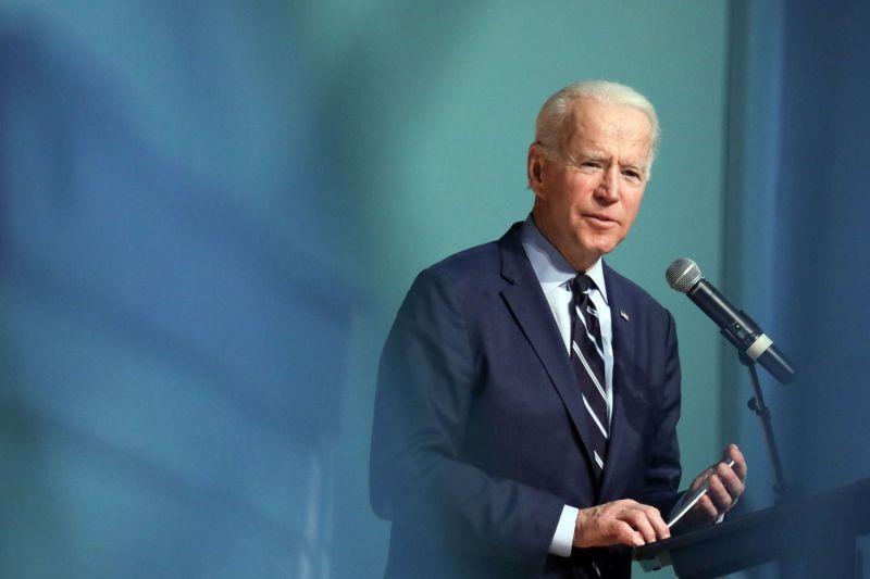 Then-presidential candidate Joe Biden