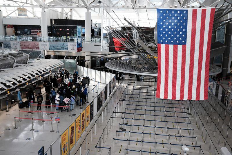 International terminal at John F. Kennedy International Airport in New York