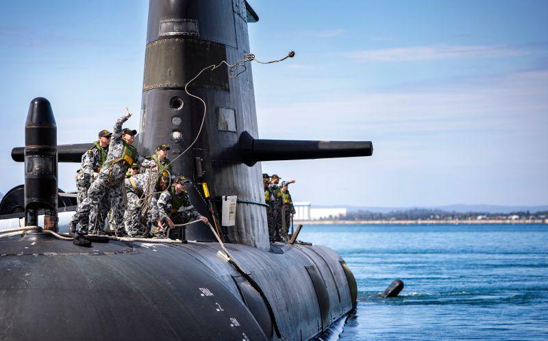 HMAS Farncomb Collins class submarine