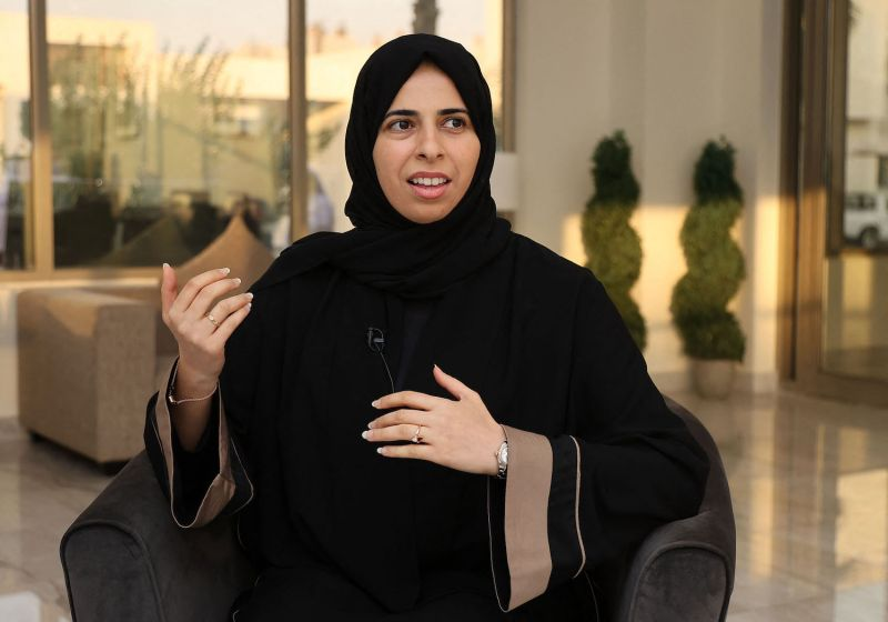 Qatari assistant foreign minister Lolwah Rashid al-Khater