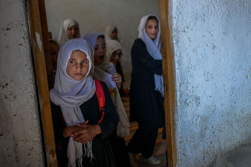 Schoolgirls in Kabul