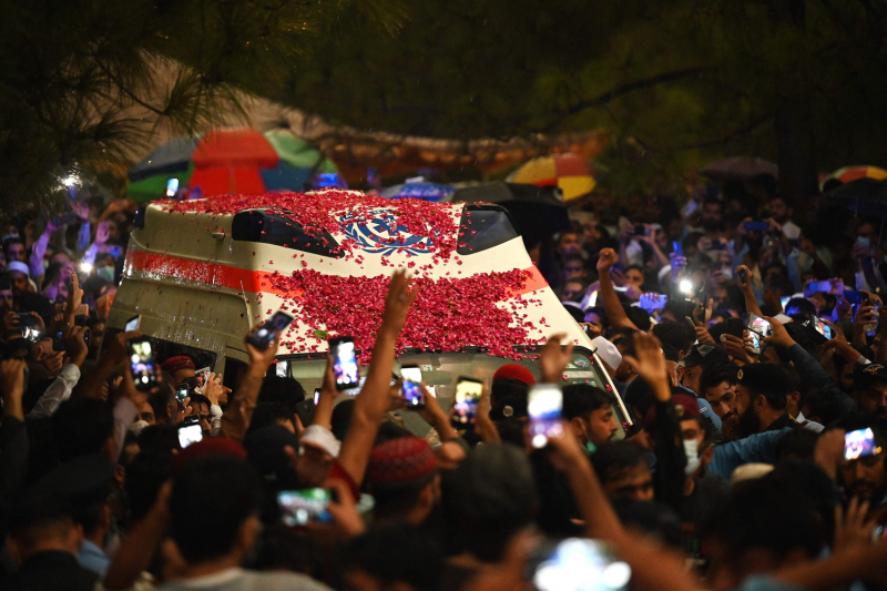 A.Q. Khan funeral procession