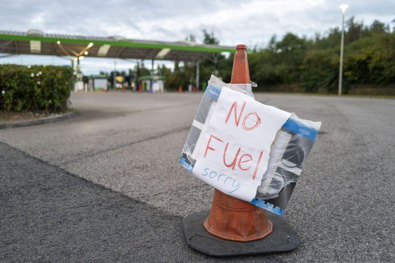 Gasoline shortage in Britain